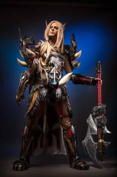 Legend of Pandaria - Blood Elf Warrior Cosplay