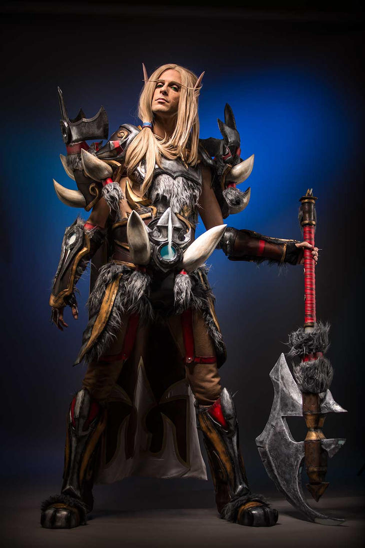 Legend of Pandaria - Blood Elf Warrior Cosplay by Imriel87