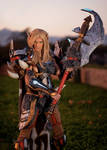 Why Do We Fight? - Blood Elf Warrior Cosplay