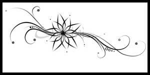 Flower Tattoo by Chiixixi