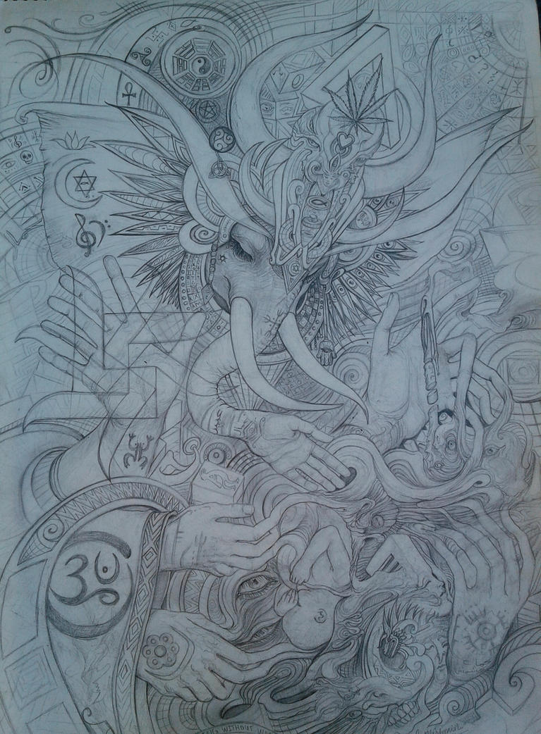 Elephant Goddess by kmish213
