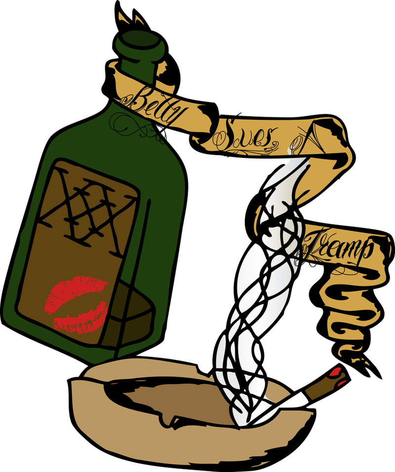 Betty Sue's Smoke Booze Color by David-Tuff on DeviantArt