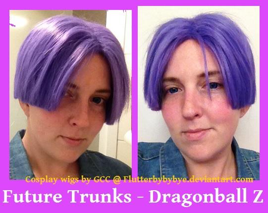 Mirai Trunks - Dragonball Z Cosplay wig by Flutterbybybye