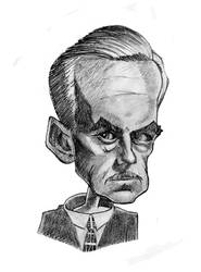 Eugene O'Neill by freesqueeze