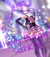 Happy Birthday Sushi-Kittie! *REALLY LATE UPLOAD*