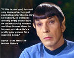 Spock Has Spoken