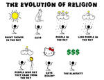 the evolution of religions