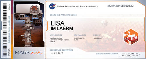 my ticket to mars