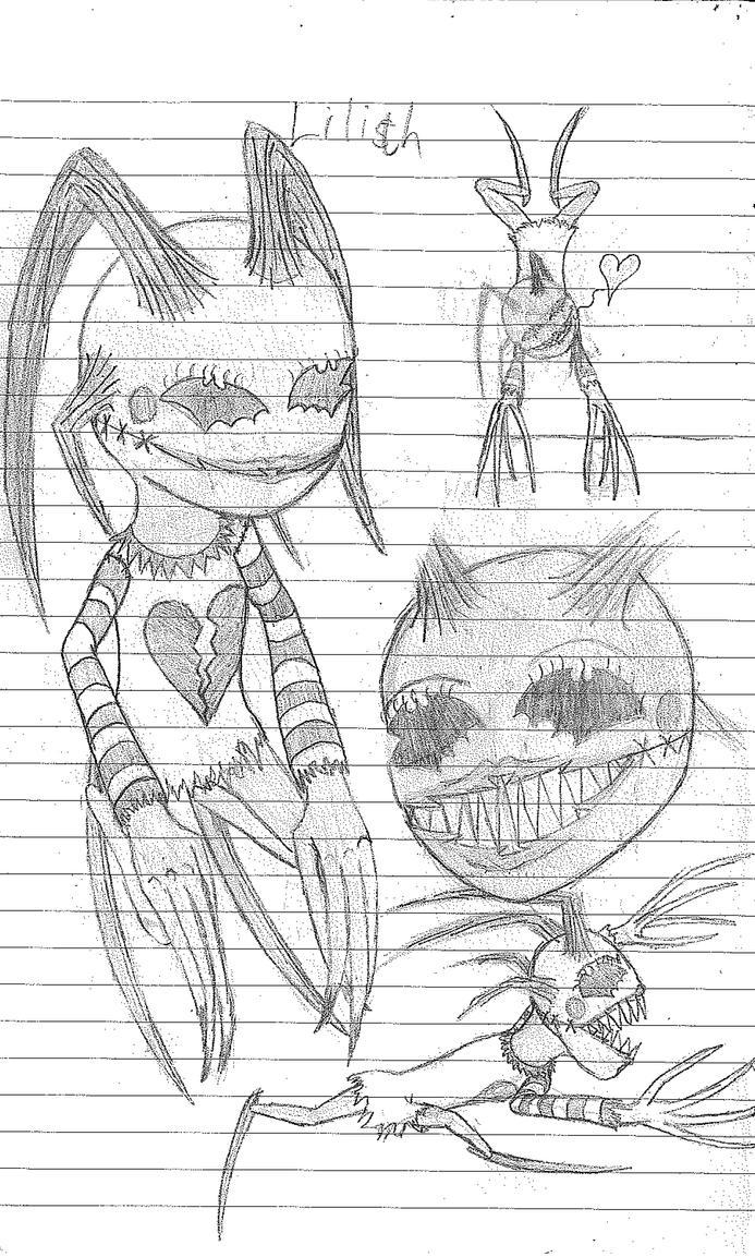 Lilith concept sketch 2013 by WallowBlacklake