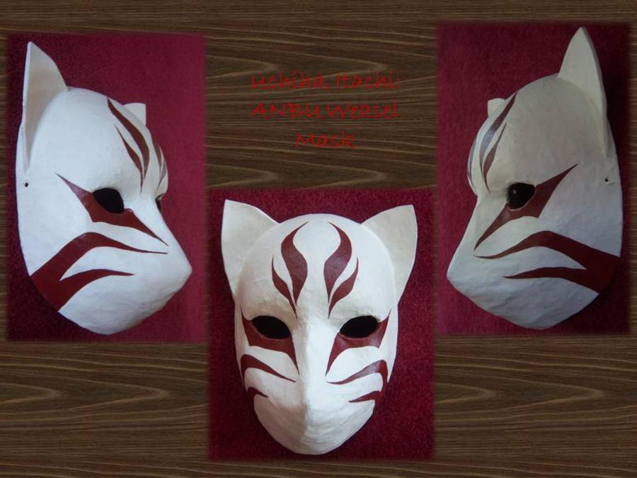 ANBU Itachi Weasel Mask by AgentShoemaker on DeviantArt
