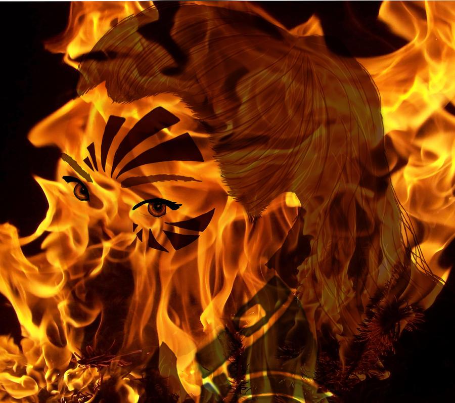 The Fire Elementalist by AgentShoemaker on deviantART