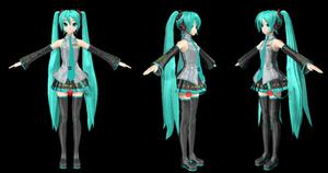 [MMD] New Miku like Project Diva Arcade (PDA) DL