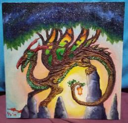 Murkojagat, the Dragon Goddess of Nature