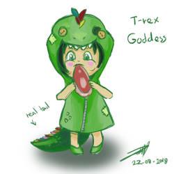 Trina the T-rex Goddess