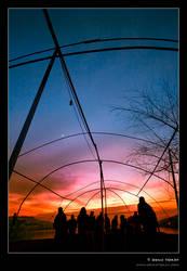 Sunset in Cayirhan