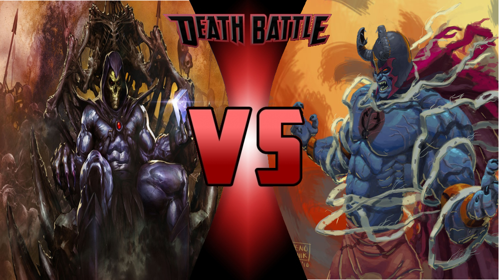 Skeletor vs Mumra by Dynamo1212 on DeviantArt