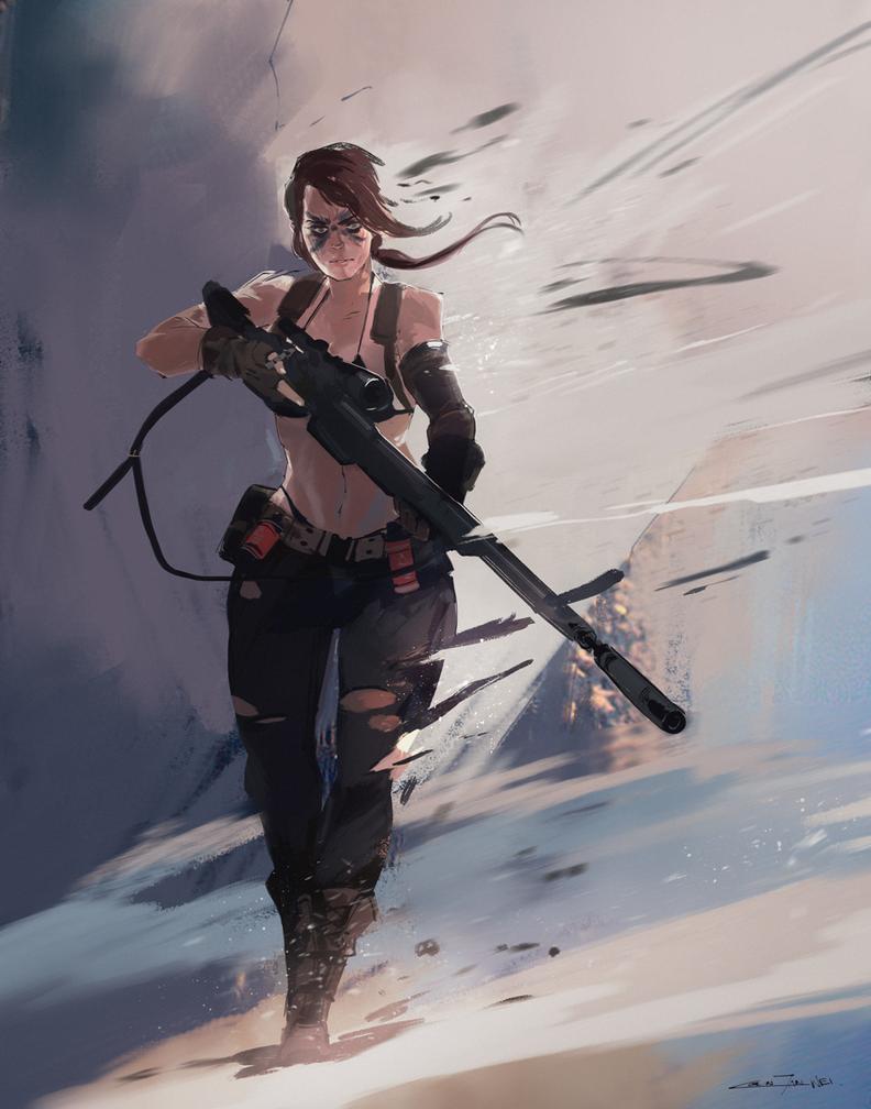 Quiet Silences Death Battle! by Dynamo1212 on DeviantArt