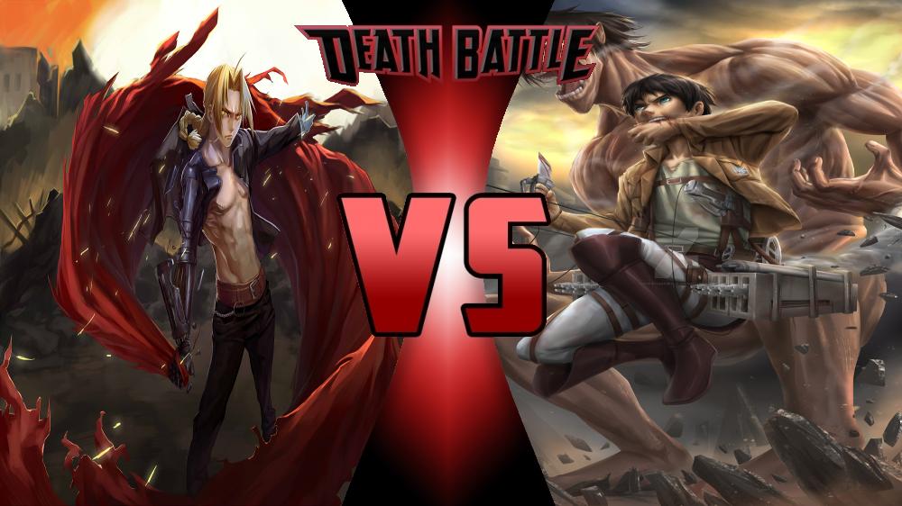 Edward Elric vs Eren Jaeger by Dynamo1212