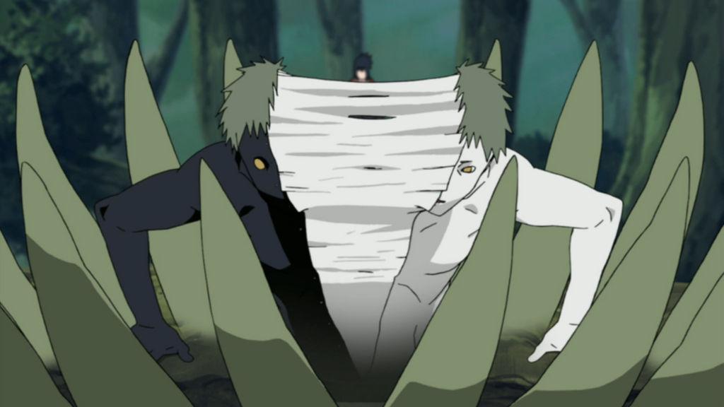 Naruto zetsu death