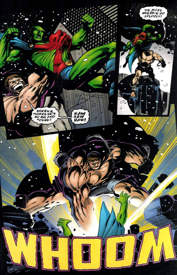 Martian Manhunter Phases into Death Battle! by Dynamo1212 on