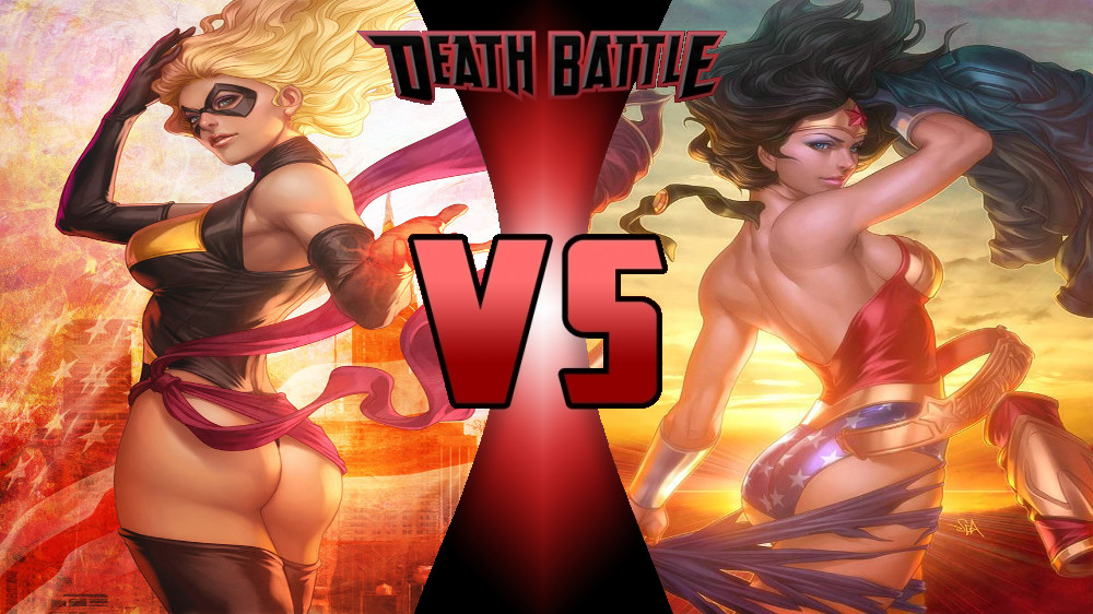 Carol Danvers vs Wonder Woman by Dynamo1212