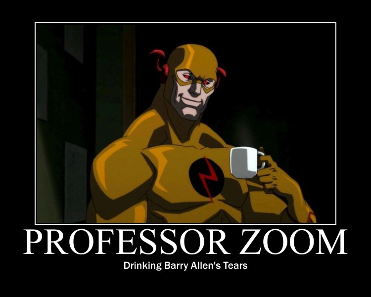 Professor Zoom Poster By Dynamo1212