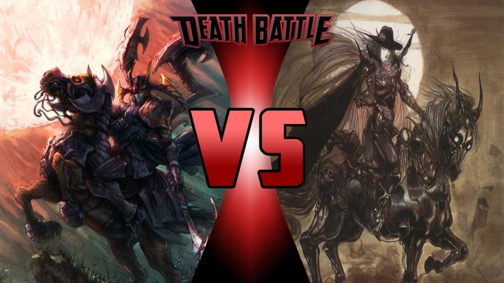 Jedah Dohma vs Vampire Hunter D by Dynamo1212