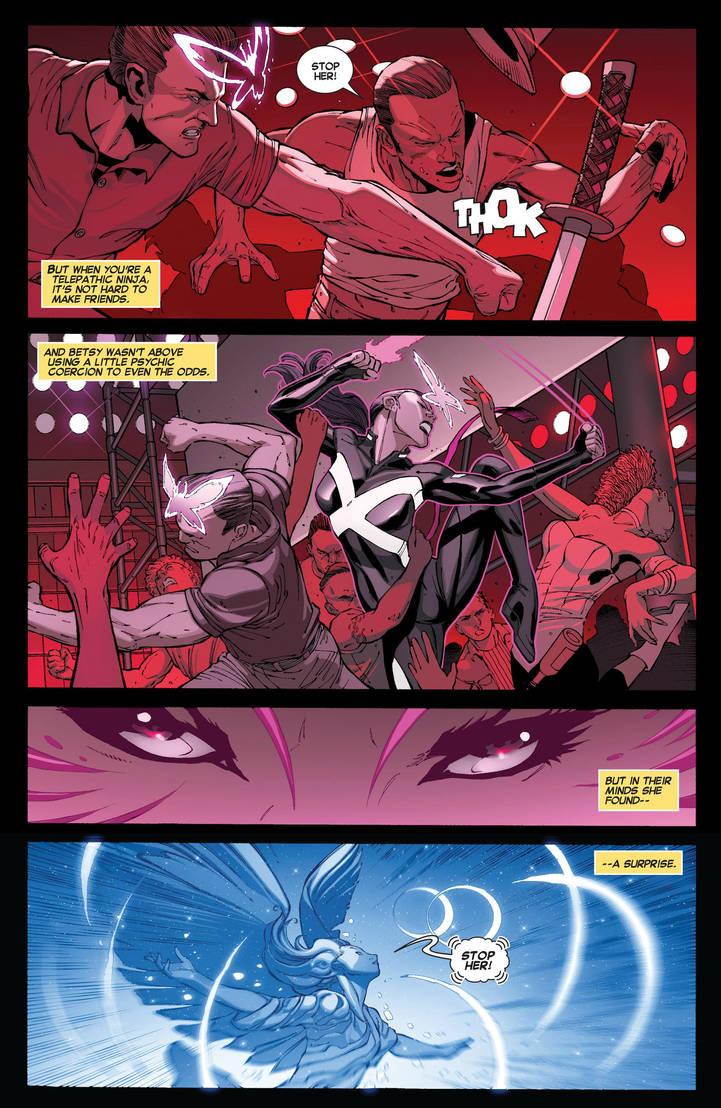 Psylocke Focuses Her Power In Death Battle! by Dynamo1212 on