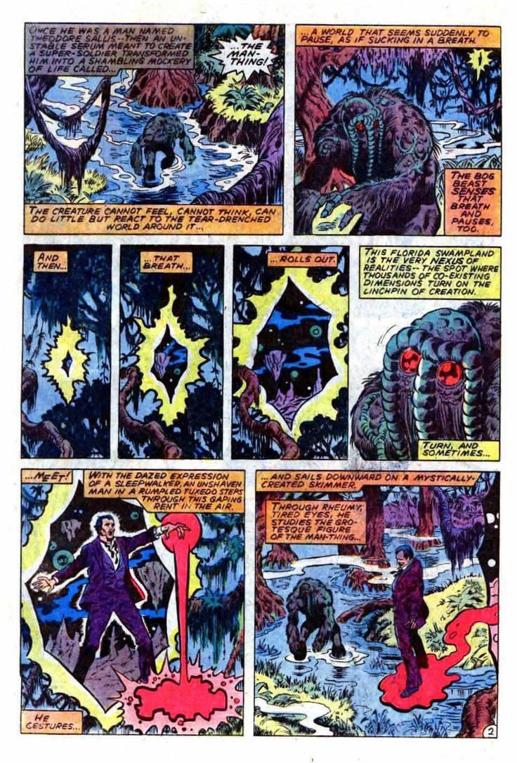 Man-Thing Fear Burns Death Battle! by Dynamo1212 on DeviantArt