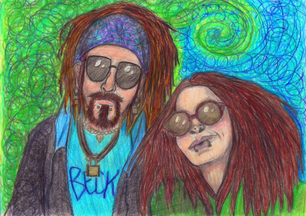 Bobhead and Alvyna by Alvyna