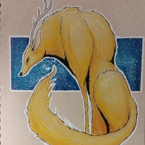 Golden Fox by GrowlBert