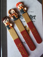 Bookmarks HarryPotter by Libellulina