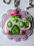 FairyHouse CupOfTea medallion