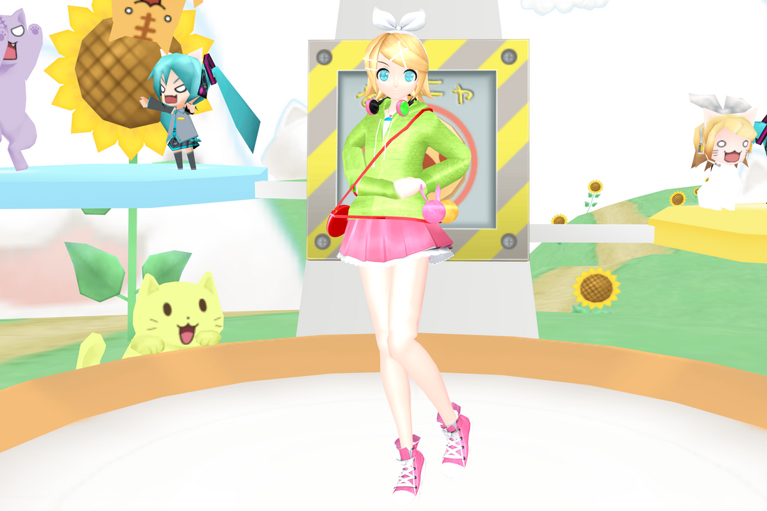 stage flood mmd cute - photo #12