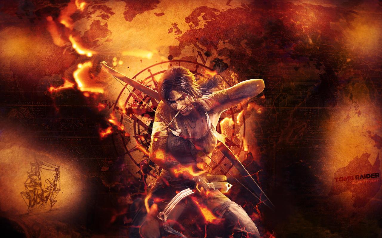 Tomb Raider Reborn - Wallpaper by Seiikya