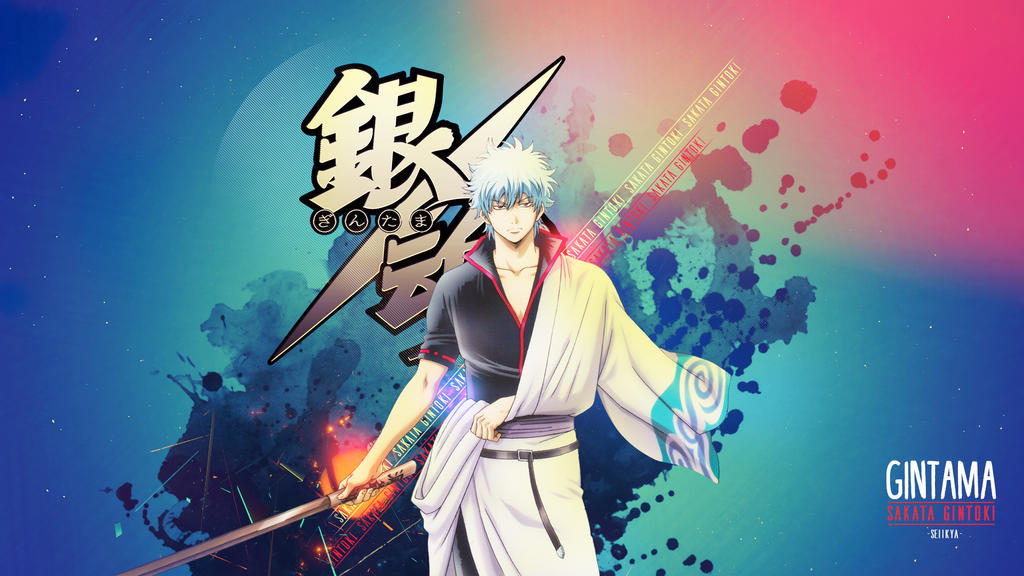 Gintama wallpaper gintoki