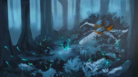 Star wars digital painting