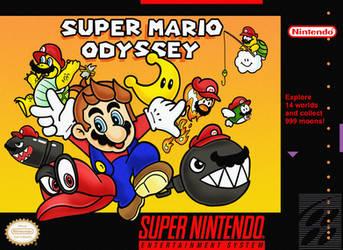 SNES Mario Odyssey