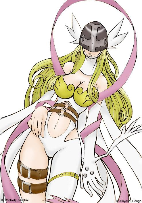 Angewomon by MelodyZombie