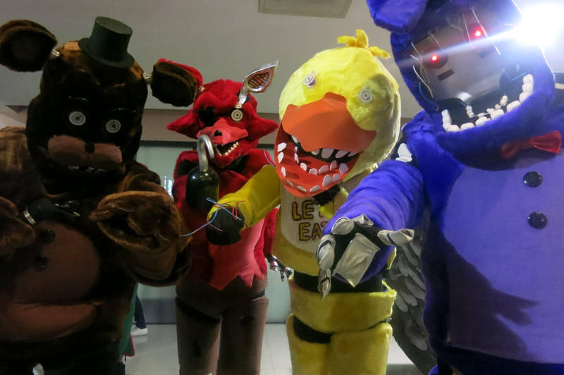 Five nights at freddys 2 by melodyzombie on deviantart