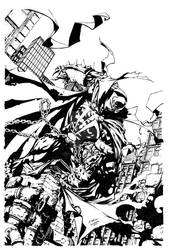 Spawn 200 David Finch cover