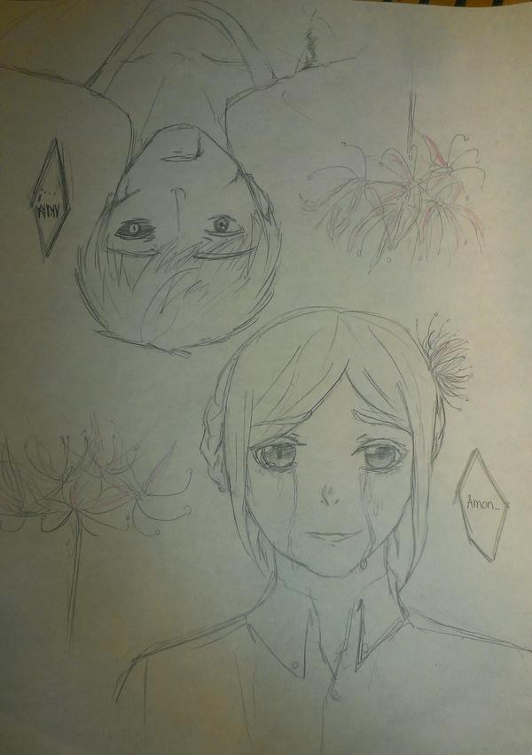 We meet again (sketch) by ofgoldandsilver