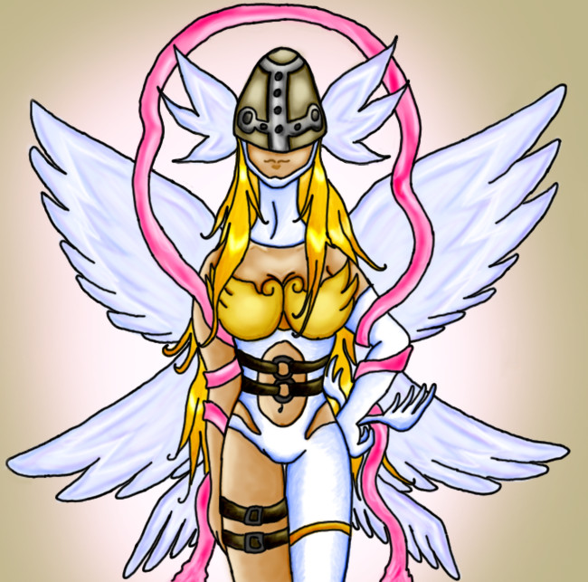 Angewomon by Kamanessa