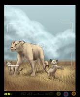 Pokemon Snap - Persian Family by Seranalu