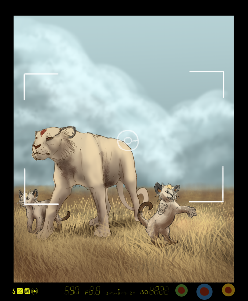Pokemon Snap - Persian Family by Seranalu on DeviantArt