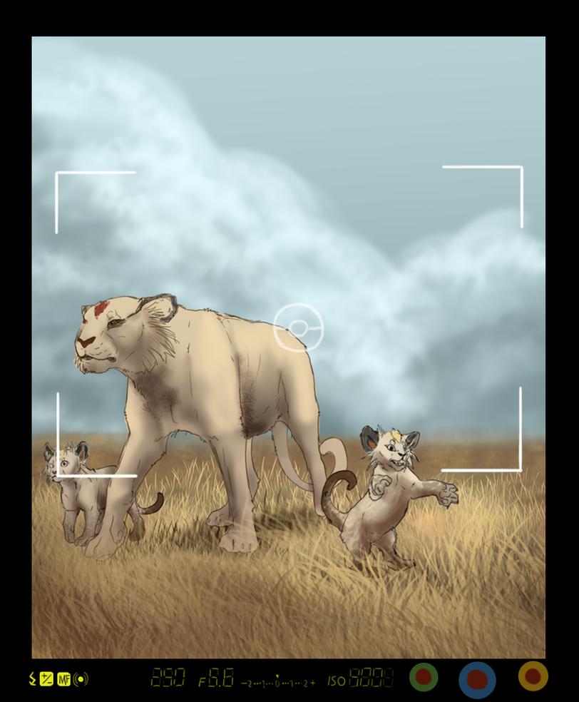 Pokemon Snap - Persian Family by Seranalu on DeviantArt