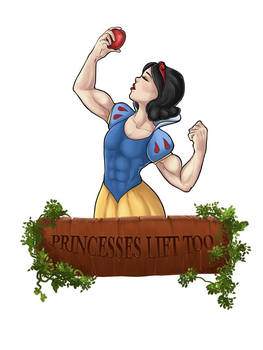 Princesses lift too: Snow White