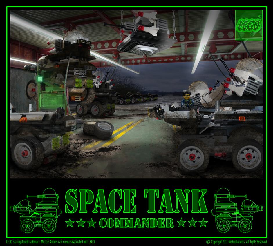 Space Tank Commander by mrmanders