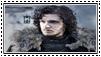 GoT:Jon Snow Stamp by kiananuva12