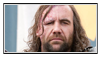 GoT:The Hound Stamp by kiananuva12